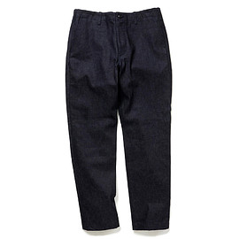HEAD PORTER PLUS - DENIM TROUSERS INDIGO