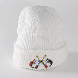 SON OF THE CHEESE - EL CAMARON KNITCAP(WHT)