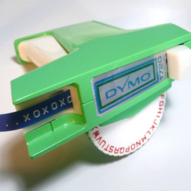 Dymo - vintage industral green dymo 1720 TAPEWRITER TAPE