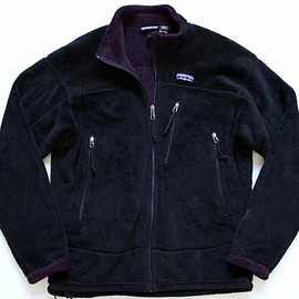 Patagonia - R4 Windbloc Jacket 2001 Black/Majestic Purple