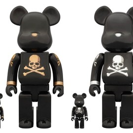 mastermind JAPAN, MEDICOM TOY - mastermind JAPAN GOLD & SILVER 100% & 400% ベアブリック(BE@RBRICK)