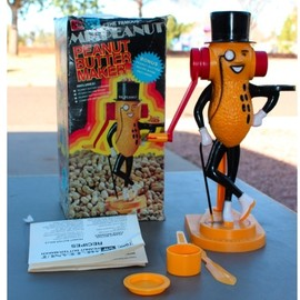 PICAM - MR. PEANUT, PEANUT BUTTER MAKER