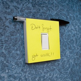 Suck UK - Switch Notes - sticky notes to leave reminders on your light switch