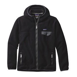 patagonia - M'S LW SYNCH SNAP-T HOODY, Black (BLK)