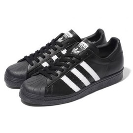 adidas originals - BEAMS × ADIDAS ORIGINALS SS 80S BLACK/WHITE