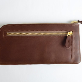 CLASKA - DO original long wallet brown