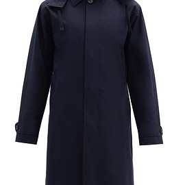 Officine Générale,MATCHESFASHION UK - Thibaud hooded waterproof wool-blend trench coat