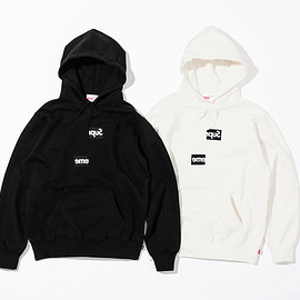 Supreme, COMME des GARCONS SHIRT - Split Box Logo Hooded Sweatshirt