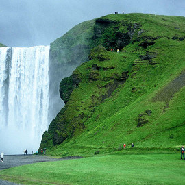 Skogafoss, Iceland - travel