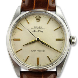 ROLEX - Air-King Ref.5500 (Leather band)