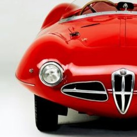 Sexy Red Alfa Romeo