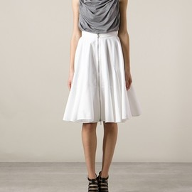 GIVENCHY - GIVENCHY - pleated skirt 7