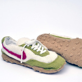 Knitted Nikes