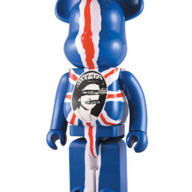 MEDICOM TOY - BE@RBRICK SEX PISTOLS GOD SAVE THE QUEEN 1000%