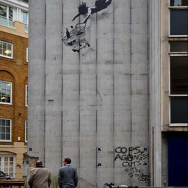 "Banksy - ""Shop Till You Drop"""