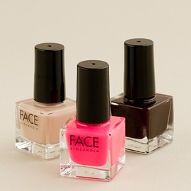 FACE Stockholm for J.CREW - three-pack nail polish
