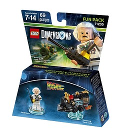 LEGO - LEGO Dimensions: Back to the Future Doc Brown Fun Pack (71230)