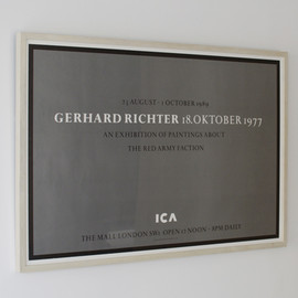 Gerhard Richter - Exhibition Poster