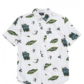 THE HUNDREDS - Mover button-up woven shirt