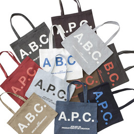 A.P.C. - art berlin contemporary x A.P.C. Tote Bag Collection