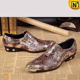 cwmalls - Mens Leather Dress Shoes Slip-on Shoes CW751548
