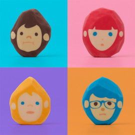 MEGAWING - rubber barber - create hairstyles for each character by simply erasing