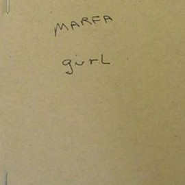 "Larry Clark - ""Marfa Girl"", Notebook Facsimile : Special Edition, Boo-Hooray, New York, Limited 12 copies"