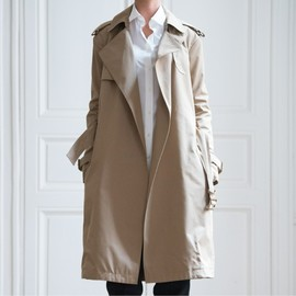 CELINE - Open front trench coat