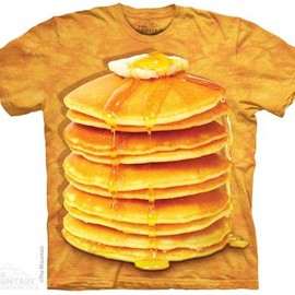 the mountain Tshirt - THE MOUNTAIN BIG STACK PANCAKES T-SHIRT
