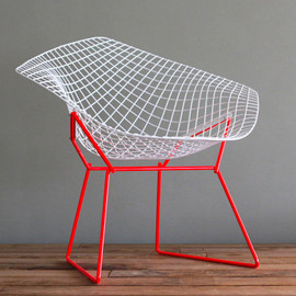 Knoll - Two Tone Bertoia Diamond for Knoll Vintage Upcycled Chair