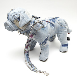 LEVI'S, Vinti Andrews - Denim Patchwork Dog Doll