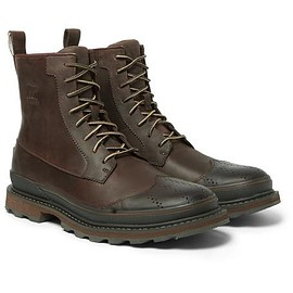 Sorel - Madson Waterproof Leather and Rubber Boots