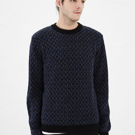 Quilted Sweatershirt White