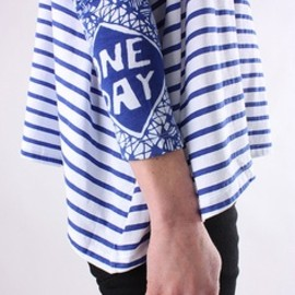 rittenhouse - blue striped tee