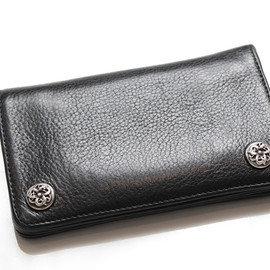 chrome hearts - 1ZIP LEATHER WALLET w/Celtic