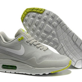 Mens Air Max 1 Hyperfuse Grey White Volt Shoes