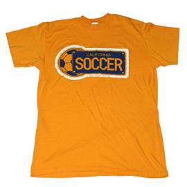 VINTAGE - Vintage 1981 California Soccer Shirt Made in USA Mens Size Small