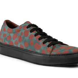 Acne - 2013AW Adrian Print Animal Contrast Printed Sneaker
