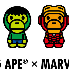A BATHING APE - A BATHING APE® × MARVEL COMICS