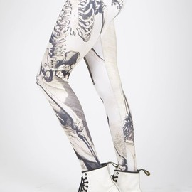 Black Milk - Skeleton Leggings