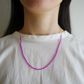 Rolfs Plads - Pink beads necklace