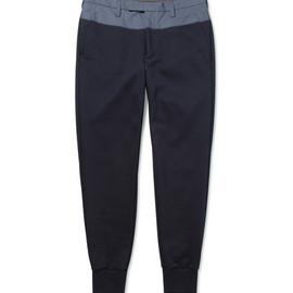 kolor - Tapered-Leg Panelled Trousers 13ss