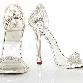 Borgezie Fashions a Solid Platinum Stiletto For $112,000
