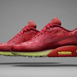 Nike - NIKE AIR MAX 90 ICE RED