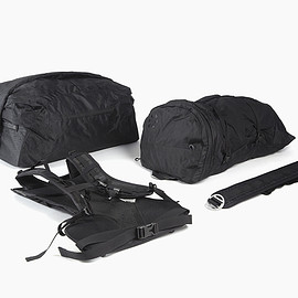 Outlier, Boreas - Ultrahigh Travel System - Black