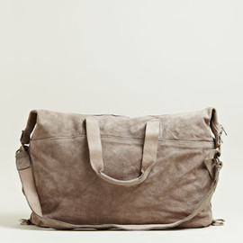 Guidi - Reverse Horse Leather Travel Bag