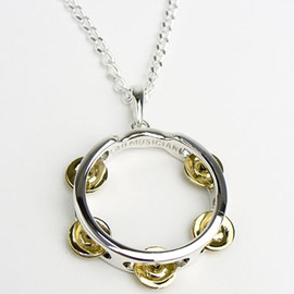LAD MUSICIAN - TAMBOURINE NECKLACE