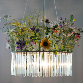 Pani Jurek - Maria SC single test tubes chandelier
