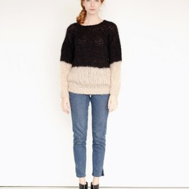 MAIAMI - Colorblock Sweater