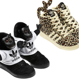 adidas Originals by Jeremy Scott  - Spring/Summer 2012 Footwear